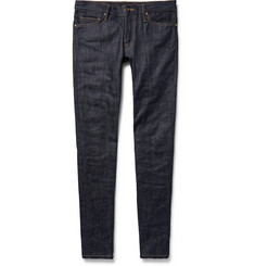 Fear of God - Skinny-Fit Zip-Detailed Panelled Selvedge Denim Jeans