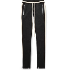 Fear of God Slim-Fit Tapered Striped Jersey Drawstring Trousers