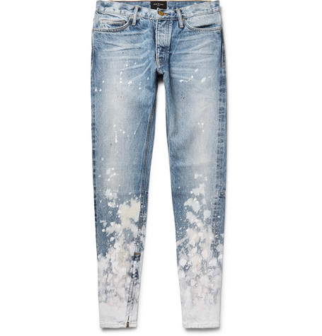 paint splatter jeans - Blue Fear of God Find Great Cheap Price tH39a4O