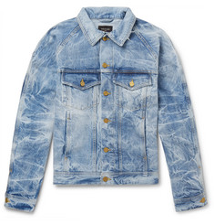 Fear of God Distressed Selvedge Denim Jacket