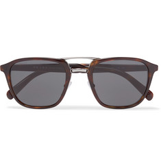 Prada - Square-Frame Tortoiseshell Acetate and Silver-Tone Sunglasses