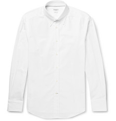 Brunello Cucinelli - Button-Down Collar Cotton Shirt