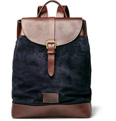 Anderson's - Leather and Suede Backpack