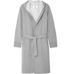 Reigning Champ - Loopback Cotton-Jersey Hooded Robe