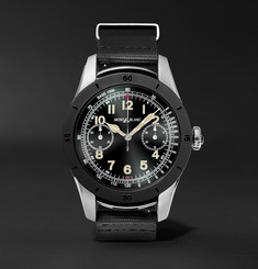 Montblanc - Summit 46mm Two-Tone PVD-Coated Stainless Steel and Rubber Smart Watch