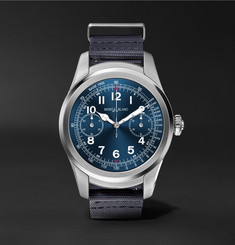 Montblanc Summit 46mm Stainless Steel and Rubber Smartwatch