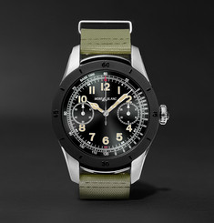 Montblanc - Summit 46mm Two-Tone PVD-Coated Stainless Steel and Rubber Smartwatch