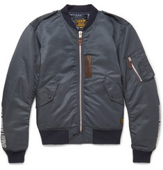 Neighborhood N-1D Shell Bomber Jacket