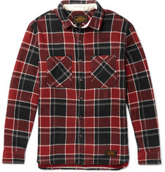 Neighborhood Lumbers Checked Cotton-Flannel Shirt