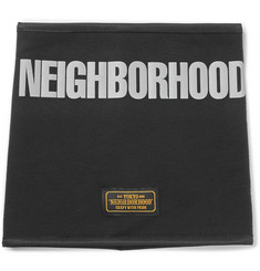 Neighborhood Printed Fleece-Back Jersey Snood