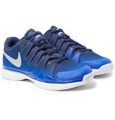 Nike Tennis Zoom Vapor 9.5 Tour Rubber-Trimmed Mesh Tennis Sneakers