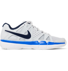 Nike Tennis Air Vapor Advantage Leather and Mesh Tennis Sneakers