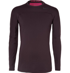 Nike Training HyperWarm Panelled Jersey Top