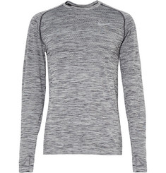 Nike Running - Knit-Panelled Dri-FIT Top