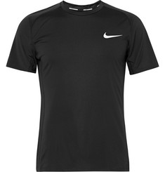 Nike Running Miler Dri-FIT Jersey and Mesh Running Top