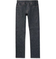 The Workers Club Slim-Fit Raw Selvedge Denim Jeans