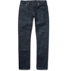 The Workers Club Slim-Fit Rinsed Selvedge Denim Jeans