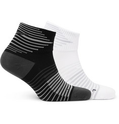 Nike - Two-Pack Performance Lightweight Quarter Dri-FIT Socks