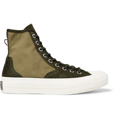 Converse 1970s Chuck Taylor All Star Hiker Brushed-Canvas High-Top Sneakers