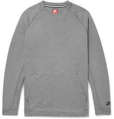 Nike Sportswear Cotton-Blend Tech Fleece Sweatshirt