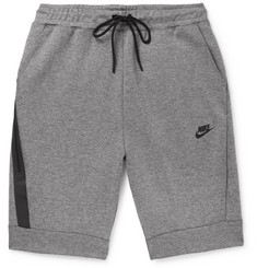 Nike Mélange Cotton-Blend Tech Fleece Shorts