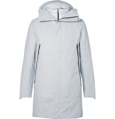 Nike 2-in-1 Padded Cotton-Blend Shell Coat with Detachable Down Gilet