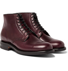 Viberg - Leather Derby Boots