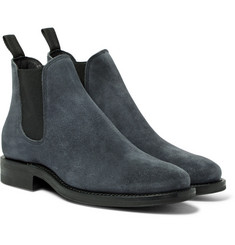 Viberg - Suede Chelsea Boots
