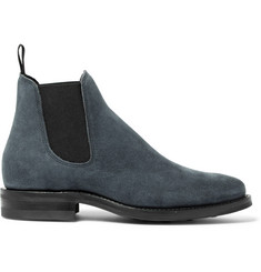 Viberg Suede Chelsea Boots