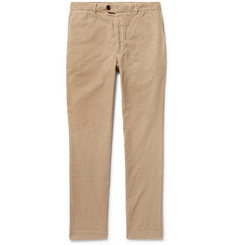 Officine Generale New Fisherman Slim-Fit Cotton-Corduroy Trousers