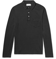 Officine Generale Cotton-Jersey Polo Shirt