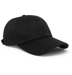 Officine Generale Storm System Wool-Flannel Baseball Cap