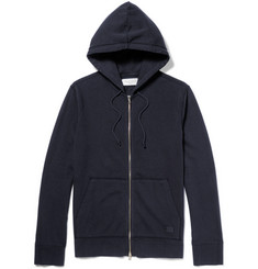 Officine Generale Loopback Cotton Hoodie