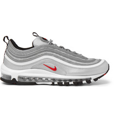 Nike Air Max 97 OG QS Mesh and Leather Sneakers