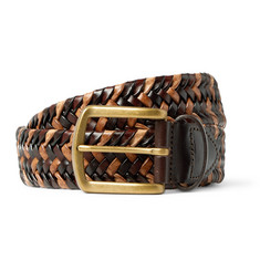 Noah - 3.5cm Braided Leather Belt