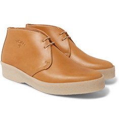 Noah + Sanders Leather Desert Boots