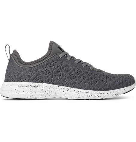 Apl Athletic Propulsion Labs Techloom Phantom 3D Mesh Sneakers - Gray