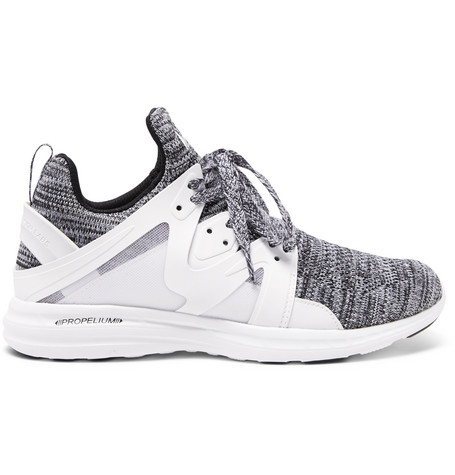 Apl Athletic Propulsion Labs Ascend Mesh And Rubber Running Sneakers - White