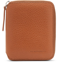 NN07 Pebble-Grain Leather Wallet