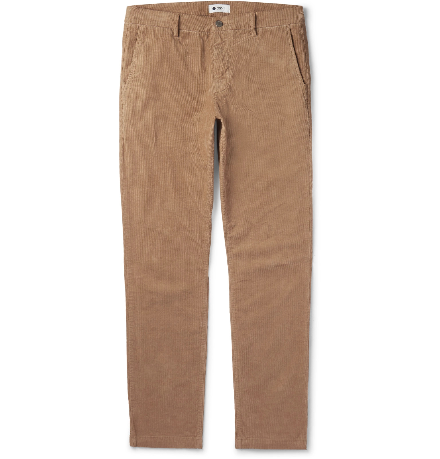 NN07 Karl Slim-Fit Stretch-Cotton Corduroy Trousers