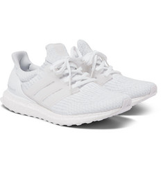 adidas Originals Ultra Boost Rubber-Trimmed Primeknit Sneakers