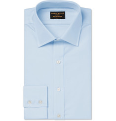 Emma Willis Blue Cotton Oxford Shirt
