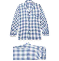 Emma Willis Gingham Brushed Cotton-Twill Pyjama Set