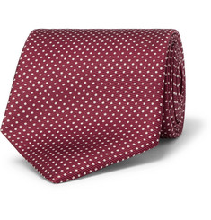 Emma Willis - 9cm Polka-Dot Silk-Twill Tie