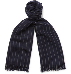 Emma Willis Pinstriped Cashmere Scarf