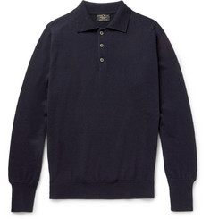 Emma Willis Cashmere Polo Shirt
