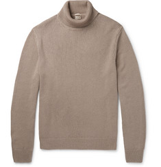 Massimo Alba Milton Watercolour-Dyed Cashmere Rollneck Sweater