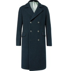 Massimo Alba - Oversized Double-Breasted Textured-Wool Coat