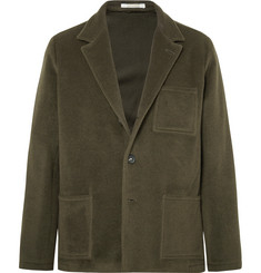 Massimo Alba - Unstructured Fleece Wool and Mohair-Blend Blazer