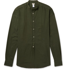 Massimo Alba - Grandad-Collar Modal and Cotton-Blend Shirt
